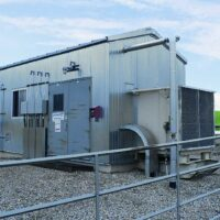 Used 350HP Electric Screw Compressor for sale in Alberta