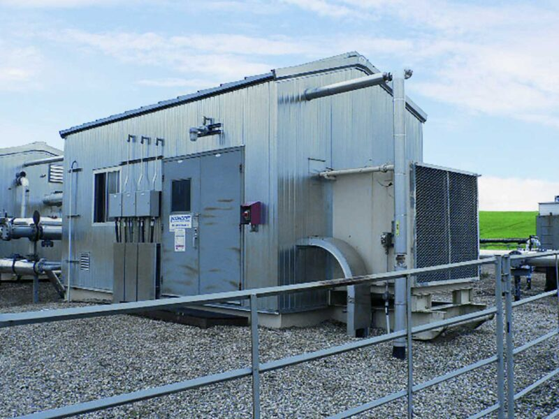 Used 350HP Electric Screw Compressor for sale in Alberta