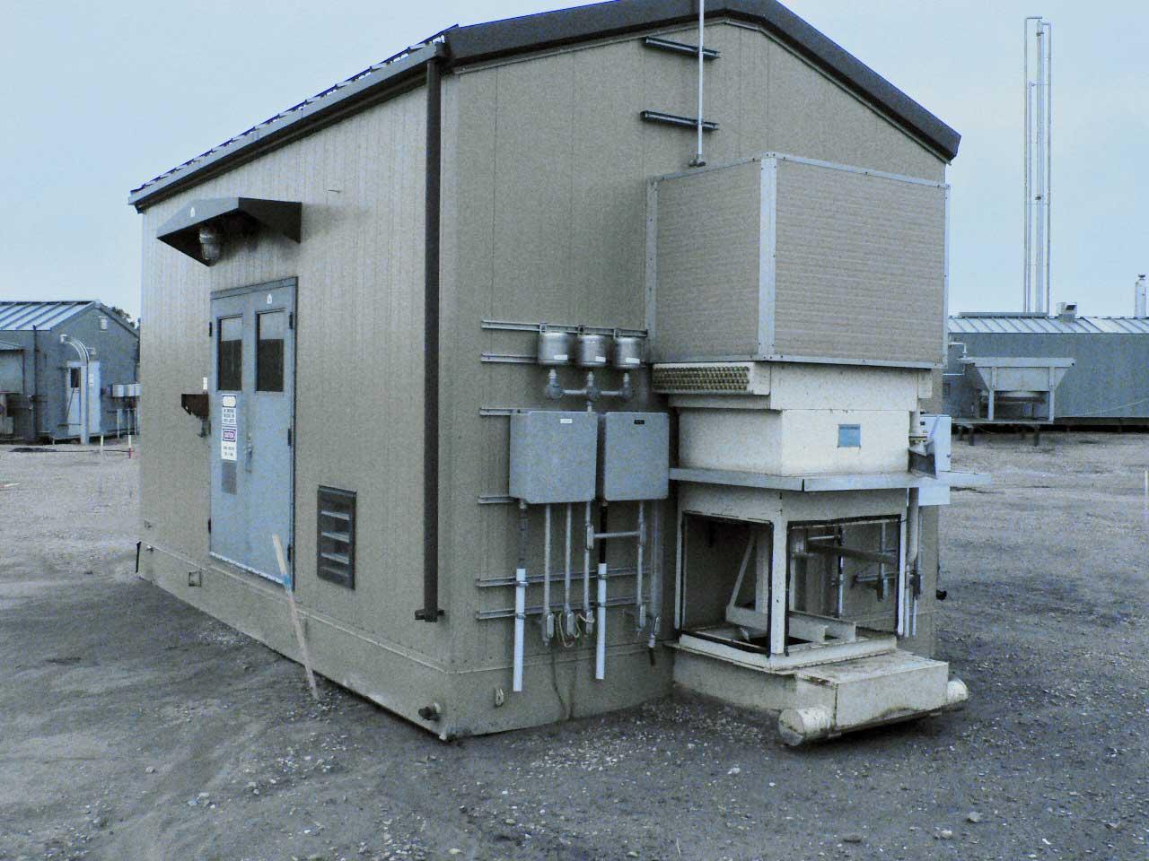 Used 125HP Electric Drive Screw Compressor For Sale in Alberta
