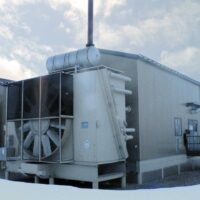 Used 860HP CAT Screw Compressor for Sale in Alberta