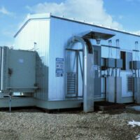 Used 350HP Electric Drive Screw Compressor for sale in Alberta