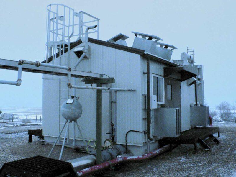 Used 400HP Electric Screw Compressor for sale in Alberta