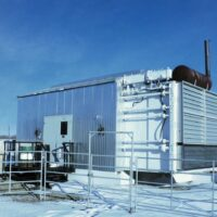 Used 425HP CAT Screw Compressor for sale in Alberta