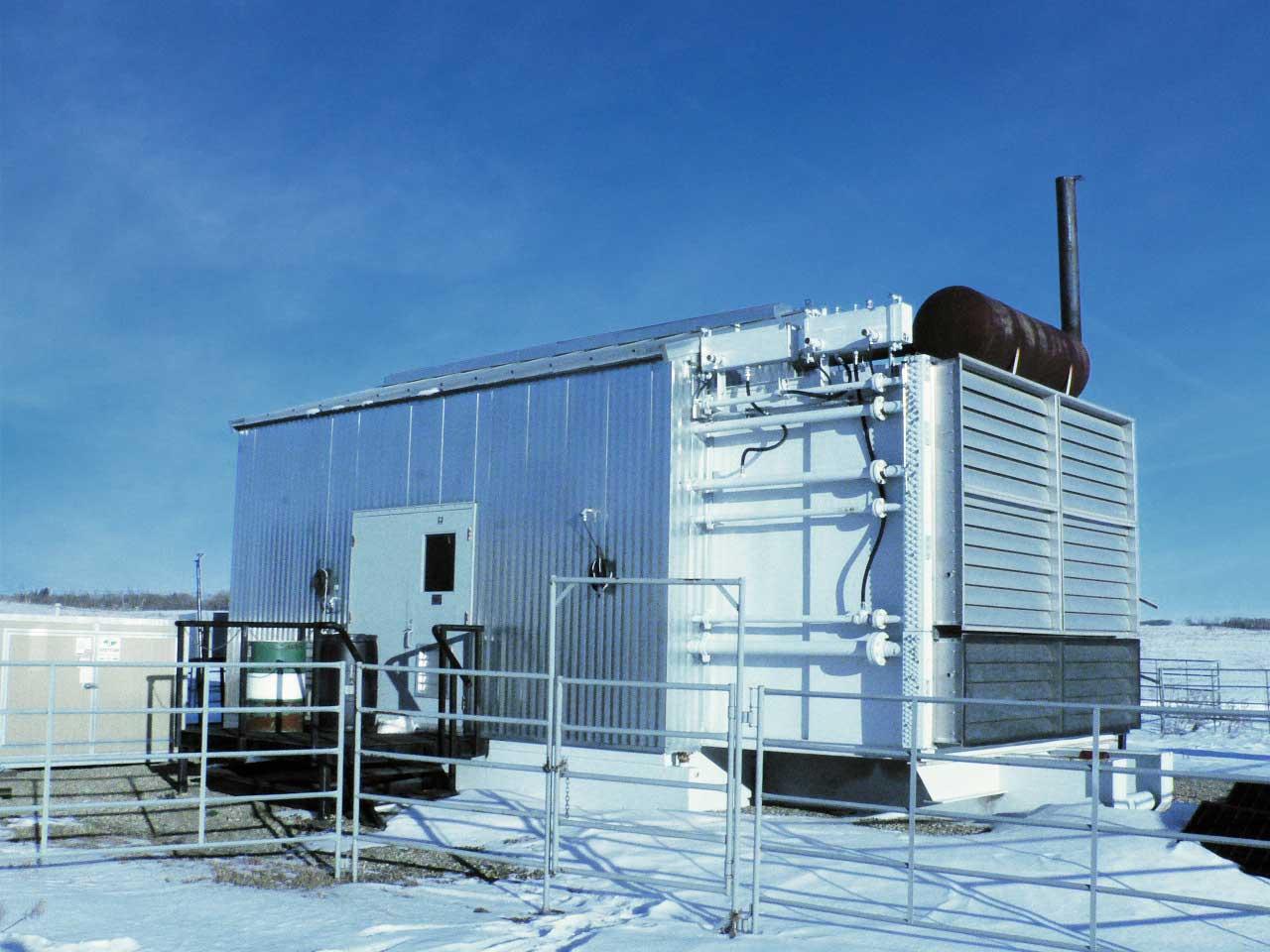 Used 425HP CAT Screw Compressor for sale in Alberta