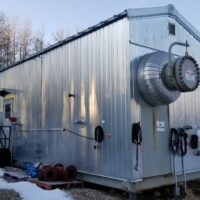 """Used 48"""" x 20' 1440psig Sweet Separator w/ Blowcase for sale in beaver Lodge Alberta Canada surplus oil and gas oilfield energy equipment"""
