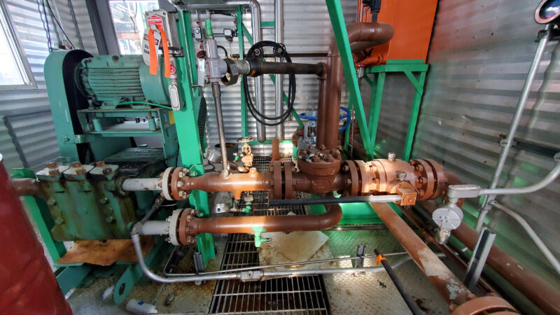 Twin 25HP Condensate Pump Package interior 4