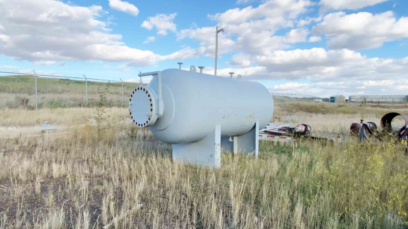 """4 New never used 60"""" x 10' Sweet 720psi Horizontal 2 Phase Vessel for sale in Alberta - packaging option available"""