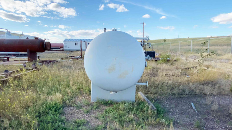 """6 New never used 60"""" x 10' Sweet 720psi Horizontal 2 Phase Vessel for sale in Alberta - packaging option available"""