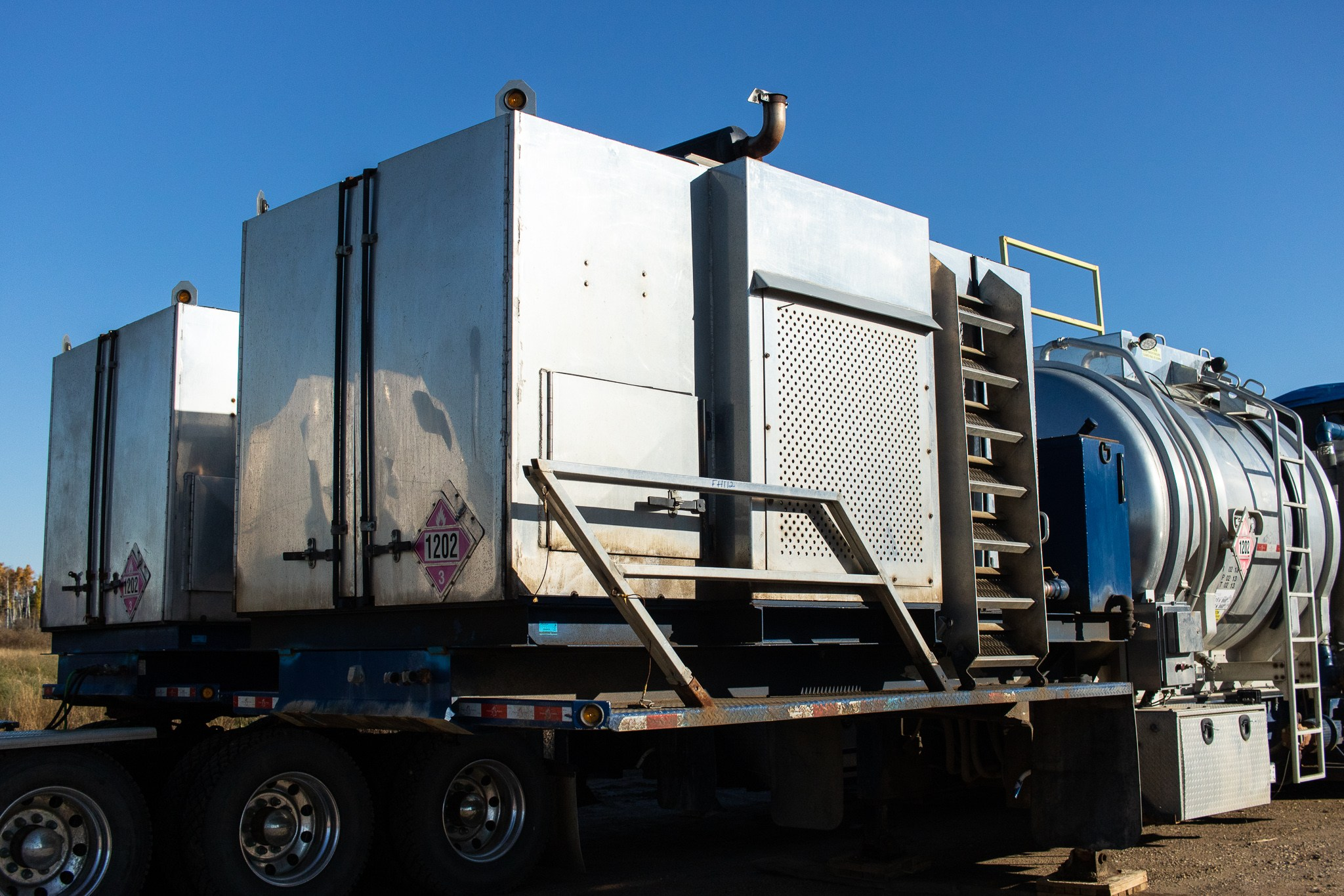 New and Used 38 MMBTU Fracking / Frac Water Heaters for sale in Calgary Alberta Canada surplus, used, new frac equipment fracking equipment oilfield energy oil and gas 5