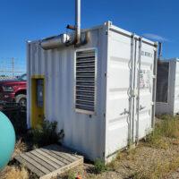 Used 85kW Cummins HN85GFQ / HN6CTA8.3GQ Generator Package for sale in Alberta Canada Behind the fence power surplus oilfield energy equipment 1