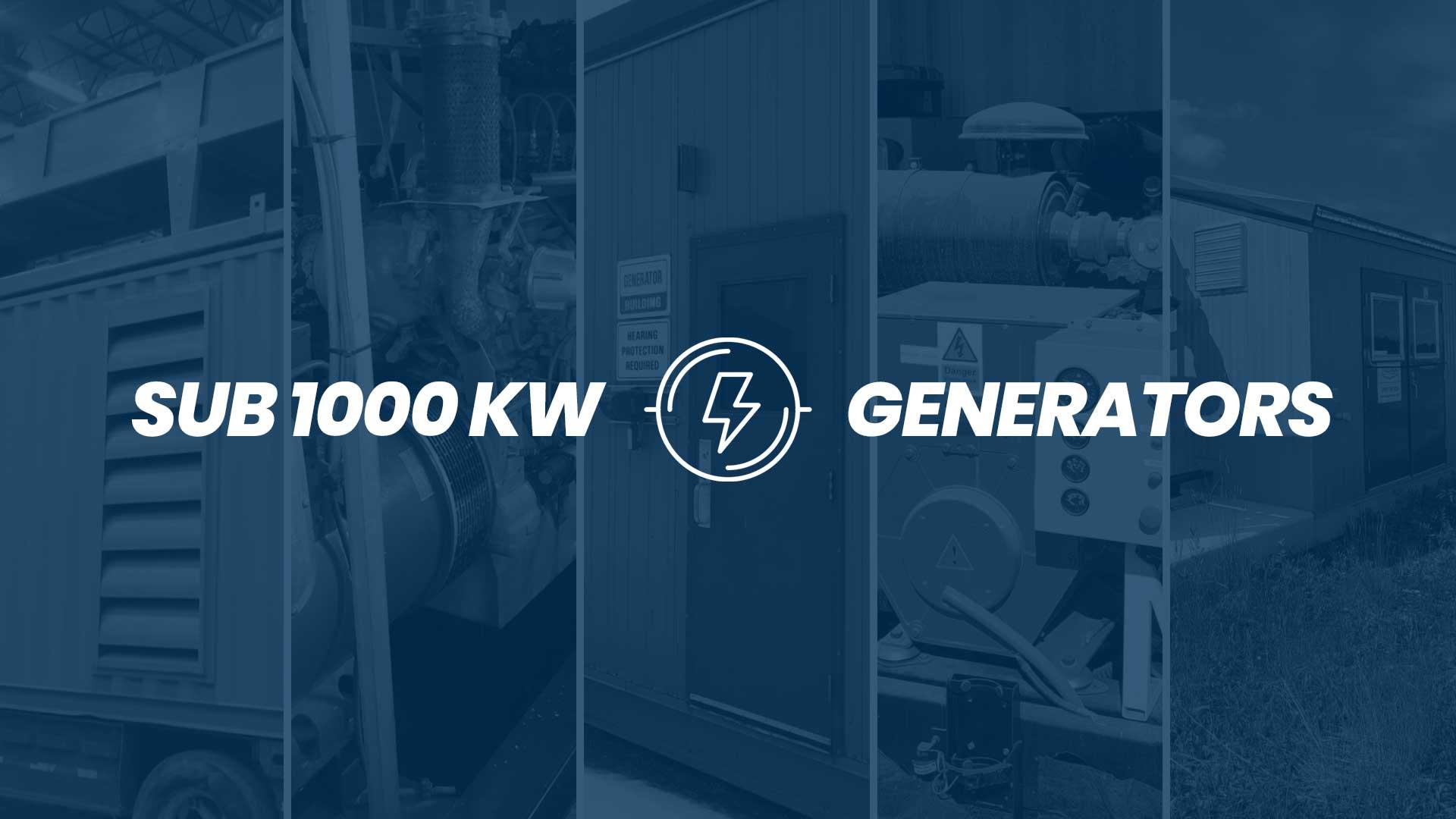 5 SUB 1000 kW (kilowatt) 1 MW Generators Just Listed! 750 kW / 550 kW / 400 kW / 200 kW / 85 kW Surplus Natural Gas Generators for Sale in Canada