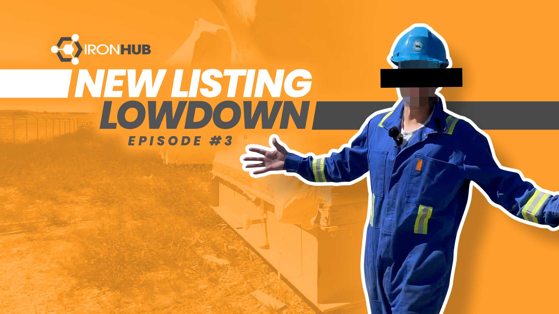Episode #3 of IronHub New Listing Lowdown is Now Out! Brand New Ssrplus Gas Processing Equipment For Sale in Alberta, Canada